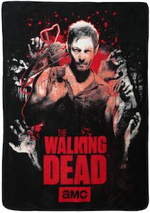 The Walking Dead Daryl Throw Blanket