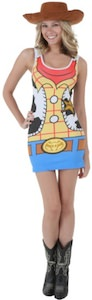 Toy Story Woody girls Tank Dress Costume