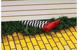 Wizard of Oz Witch Legs Halloween Decoration