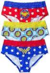 3 pack of Wonder Woman underwear