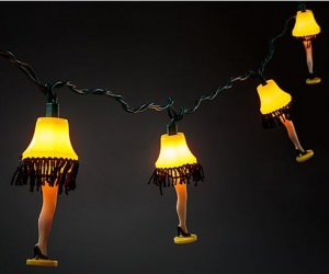 A Christmas Story Leg Lamp String of Lights