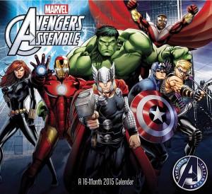 Avengers 2015 Wall Calendar