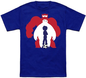 Biggest Hero 6 T-Shirt with Hiro and Baymax