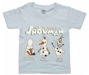 Build A Snowman With Olaf T-Shirt