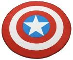 Captain America Shield Rug