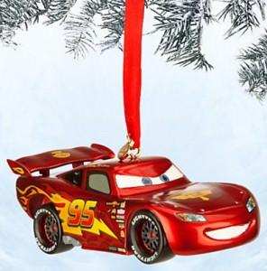 Cars Light Up Lightning McQueen Ornament