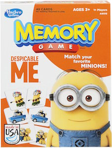 Despicable Me Minion Memory Game