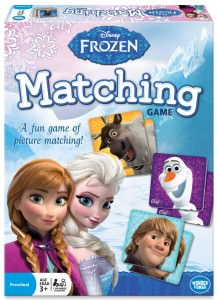 Disney Frozen Matching and Memory Game