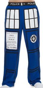 Doctor Who Tardis Pajama Pants