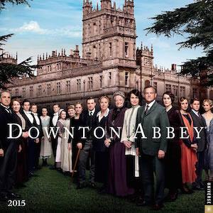Downton Abbey Wall Calendar 2015