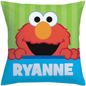 Personalized Elmo Pillow