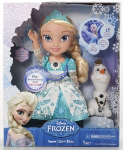 Elsa And Olaf My First Princess Singing Doll