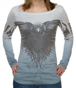 Game of Thrones Three-Eyed Raven Ladies Shirt
