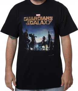 Guardians of the Galaxy Debut Poster T-Shirt