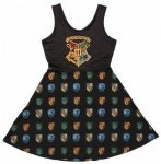 Harry Potter Hogwarts Scoop Neck Dress