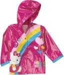 Hello Kitty Rainbow Toddler Rain Coat