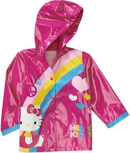Hello Kitty Rainbow Toddler Rain Coat
