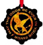 Hunger Games Mockingjay Odds Ornament