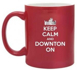 Keep Calm Downton Abbey Mug