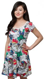 Marvel Comics Superhero Dress
