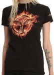 Mockingjay On Fire T-Shirt