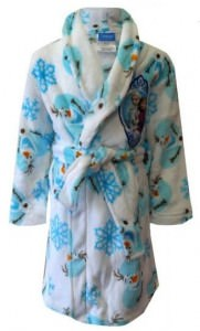 Olaf Anna And Elsa Kids Robe