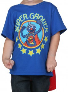 Sesame Street Super Grover Cape T-Shirt