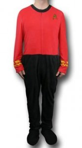 Star Trek Security Pajamas