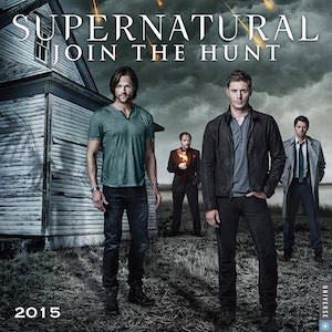 2015 Supernatural Join The Hung Wall Calendar
