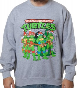 TMNT Christmas Sewer Sweatshirt