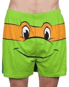 TMNT Michelangelo Boxer Shorts