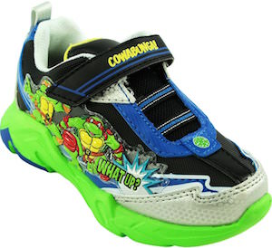 TMNT toddler shoes with lights