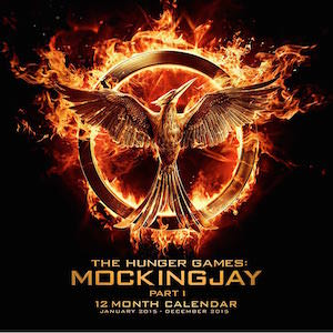 The Hunger Games Mockingjay Part 1 Wall Calendar 2015