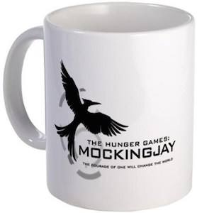 The Hunger Games The Courage Of One Mockingjay Mug