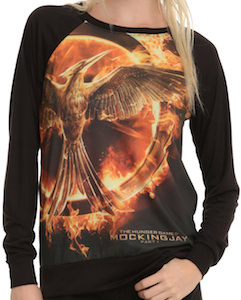 The Hunger Games Mockingjay Logo Pullover