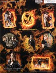 The Hunger Games Quotations Sticker Set