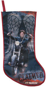 The Walking Dead Daryl Dixon Claimed Christmas Stocking