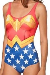 Wonder Woman One Piece Swimsuit