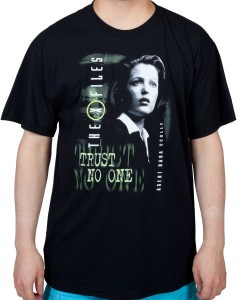 X Files Agent Dana Scully T-Shirt