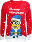 Despicable Me Kids Minion Christmas Sweater