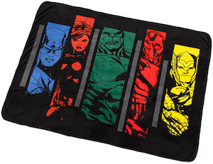 Avengers Assemble Throw Blanket