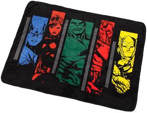 Avengers throw blanket
