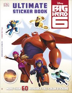 Disney Big Hero 6 Sticker Book