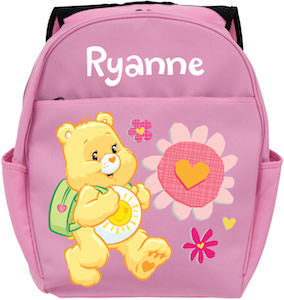 Care Bears Funshine Personalized Backpack
