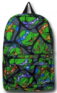 College Teenage Mutant Ninja Turtle Backpack