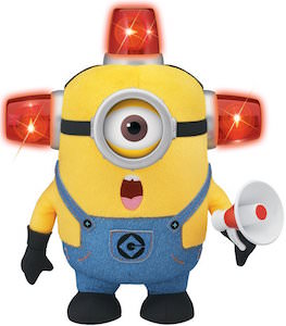 Despicable Me Fireman Minion Plush Figure