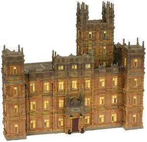 Department 56 Downton Abbey Building with lights (4036506)