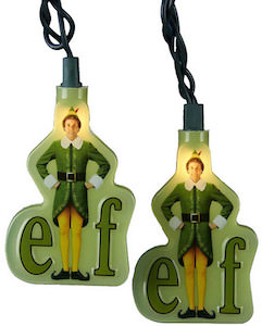 Buddy Elf Christmas Lights