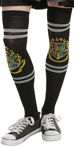Harry Potter Hogwarts Logo Knee Socks