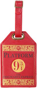 Harry Potter Platfom 9 3/4 Luggage Tag